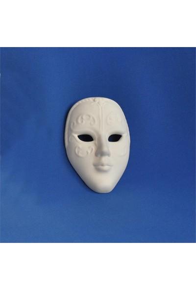 Seramik Obje - Yüz Maske - Küçük
