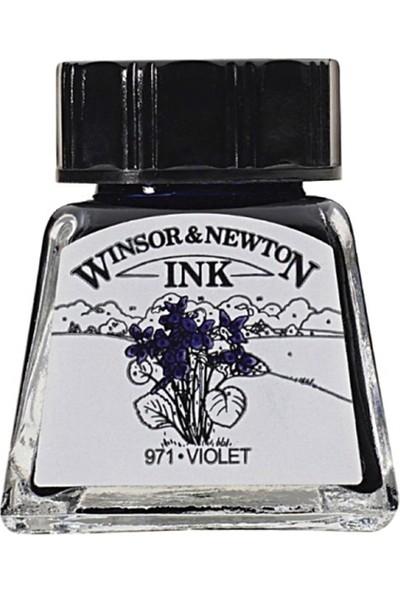 Winsor & Newton Çini Mürekkebi 14Ml - Violet
