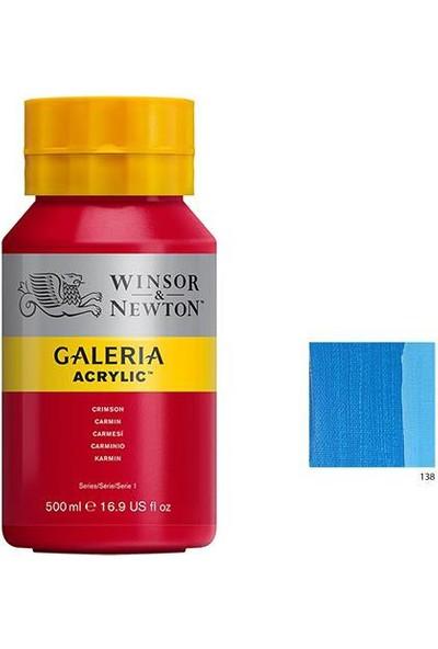 Winsor & Newton Galeria Akrilik Boya 500Ml - Cerulean Blue Hue 138