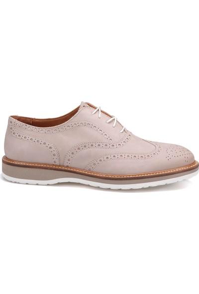 Maritan A1004 Bej Erkek Deri Ayakkabı