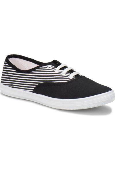 Kinetix Helen Siyah Beyaz Kadın Ayakkabı