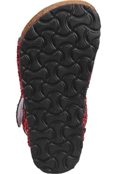 Hello Kitty 90522T Kırmızı Kız Çocuk Sandalet