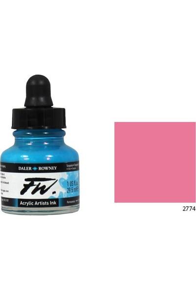 Daler Rowney Fw Ink Likit Akrilik 29.5Ml - Process Magenta 2774