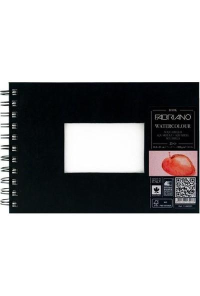 Fabriano Watercolour Book Beyaz, İnce Dokulu, 300Gr, 14,8X21Cm