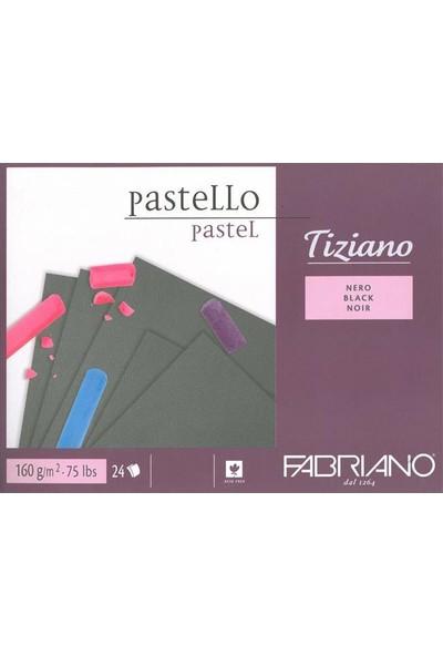 Fabriano Tiziano Black Siyah Renkli Blok, 160Gr, 23X30,5Cm