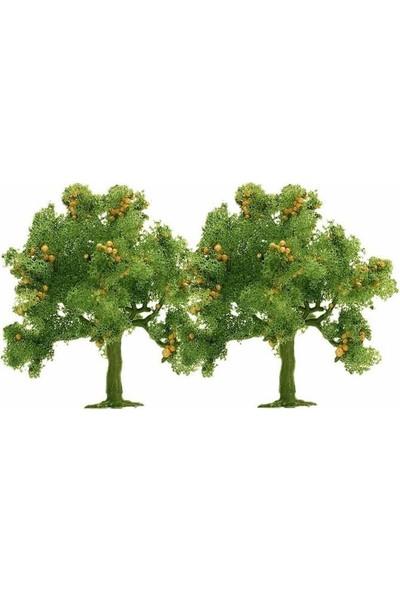 Busch 2 Adet Elma Ağacı 1/160-1/120