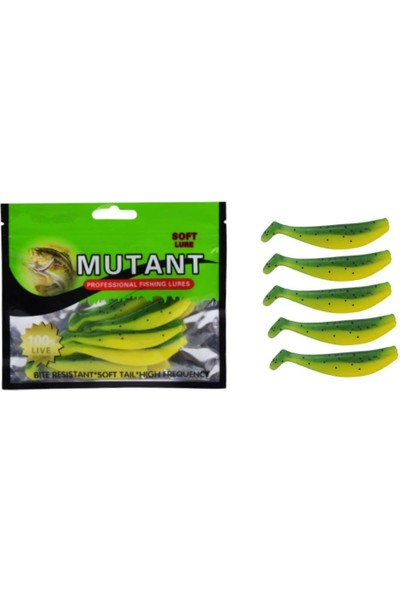 Mutant 3505 Pro Game Pls Balık 7 Cm 5 Li Pk Color:018