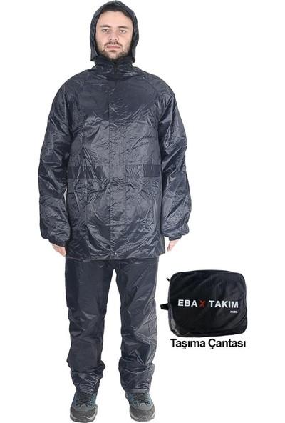 Kaptan Yağmurluk Takımı İthal Çift Taraflı Ebax Set