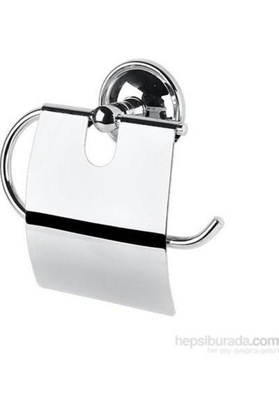Saray Krom Kapaklı Tuvalet Kağıtlığı Soft