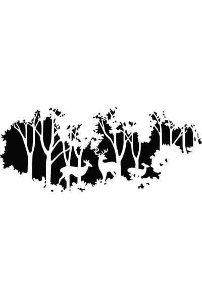 Forest Duvar Sticker
