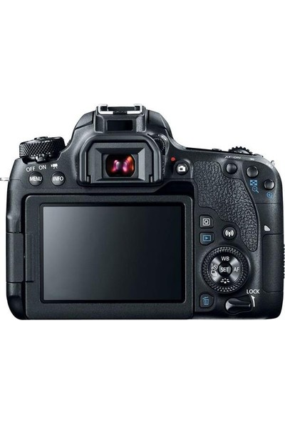 Canon EOS 77D 18-55mm f/4-5.6 IS STM Fotoğraf Makinesi İthalatçı Garantili