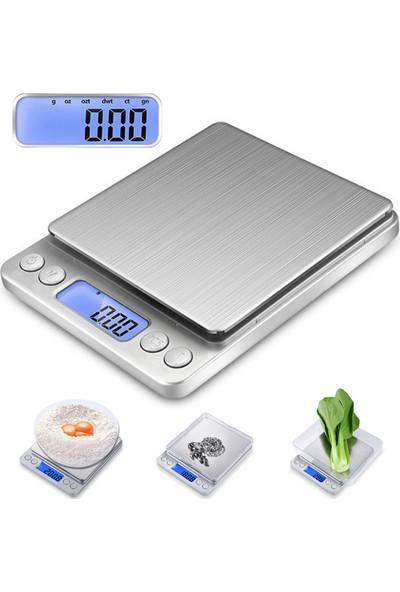 WF Dijital Hassas Terazi Tartı 500 gr./ 0.01 gr. thr124