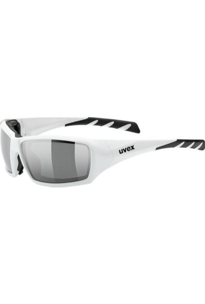 Uvex Sportstyle 308 White / Mirror Silver Güneş Gözlüğü