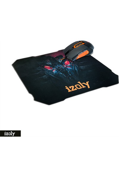 Izoly D8 Oyuncu Mouse ve Mouse Pad