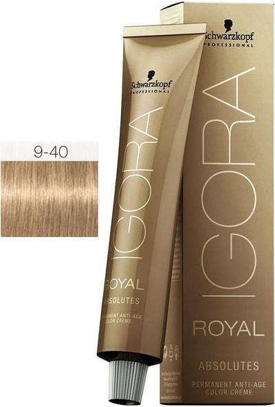 Schwarzkopf Igora Royal Absolutes 9.40 Saç Boyası 60ml