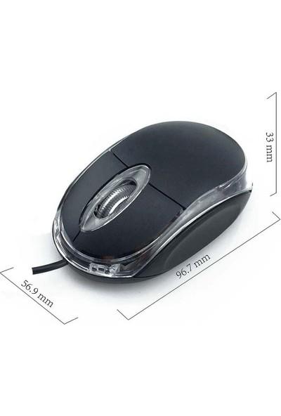 Azemax M631 Usb Siyah Kablolu Mouse