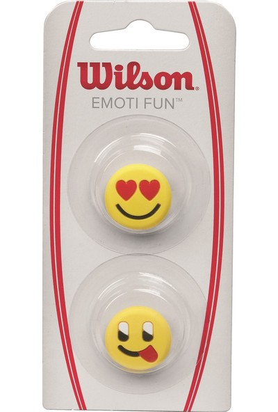 Wilson Titreşim Önleyici Emoti-Fun Heart Eyes/Tongue Out ( WRZ538400 )