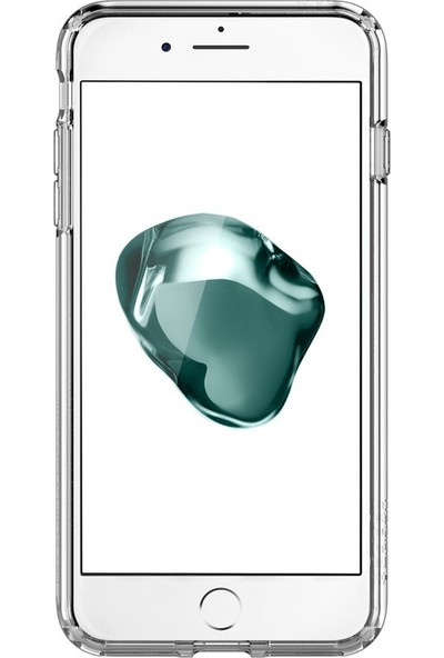 Spigen Apple iPhone 8 Plus - iPhone 7 Plus Kılıf Ultra Hybrid 2 Crystal Clear - 043CS21052