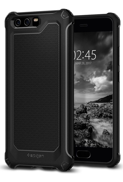 Spigen Huawei P10 Plus Kılıf Rugged Armor Extra Black - L16CS21592