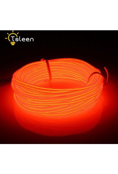 ModaCar Kırmızı Araç İçine Neon Kablo 2 Metre 422421