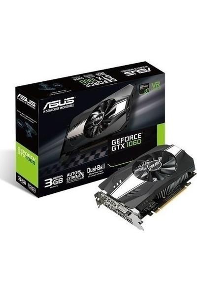 Asus Phoenix GeForce GTX 1060 3GB 192Bit GDDR5 (DX12) PCI-E 3.0 Ekran Kartı PH-GTX1060-3G