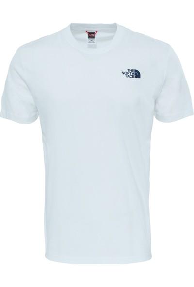 The North Face Beyaz Erkek T-Shirt T92ZXESFT