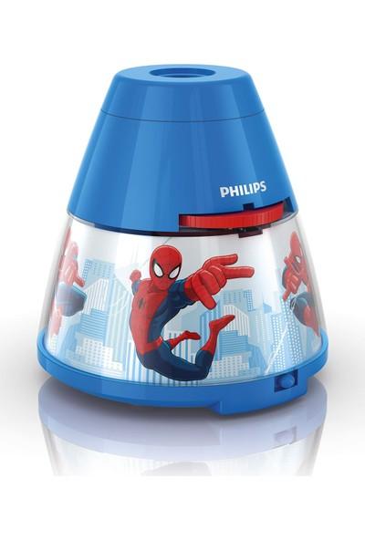 Philips Disney Hikayeli Gece Lambası Ve Projektör - Spiderman