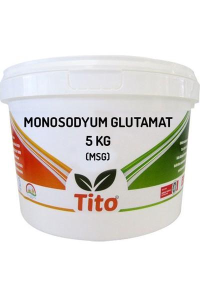 Tito Monosodyum Glutamat MSG Çin Tuzu Gıda Tipi 5 kg