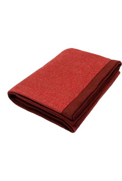 Herrıngbone Throw Red 265*380