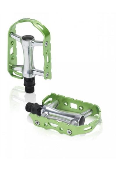 Xlc Mtb / Trekking Alüminyum Pedal Yeşil