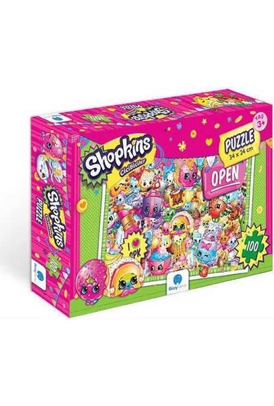 Gizz Game Shopkins 100 Parça Çocuk Puzzle
