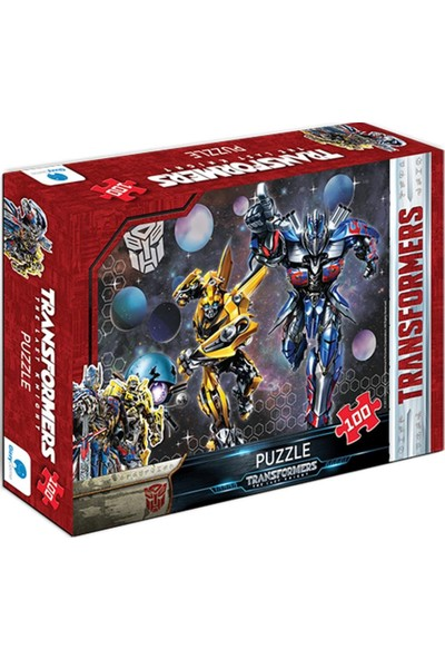 Gizz Transformers Çocuk Puzzle 100 Parça