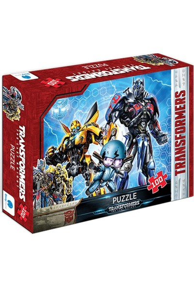 Gizz Puzzle Transformers 100 Parça