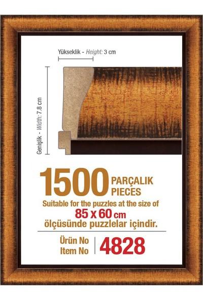 Heidi 4828 Polistiren Puzzle Çerçevesi 1500 Parça 85 x 60 cm