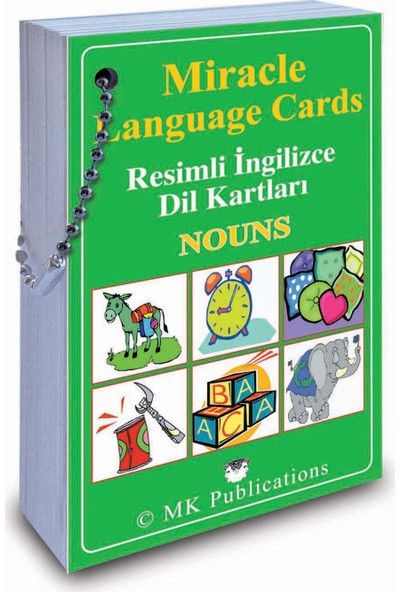Miracle Language Cards - Nouns
