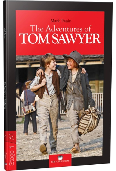 The Adventures Of Tom Sawyer (Stage 1 - A1) - Mark Twain