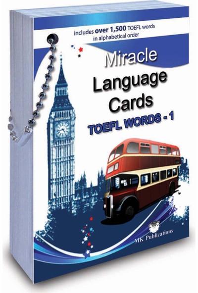 Miracle Language Cards TOEFL Words - 1