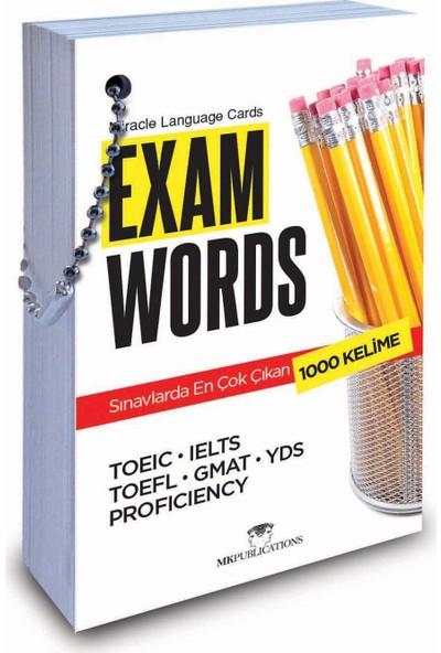 Miracle Language Cards – Exam Words (Kelime Kartı)