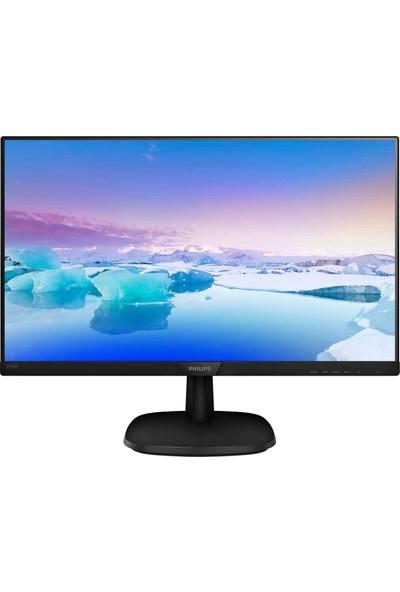 """Philips 243V7QDAB/00 23.8"""" 5ms (Analog+DVI+HDMI) Full HD IPS Monitör"""