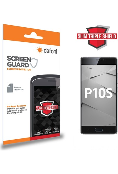 Dafoni reeder P10S Slim Triple Shield Ekran Koruyucu