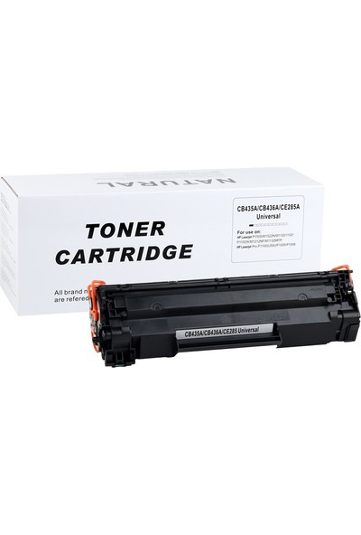 Natural Hp CB435A/CB436A/CE285A Universal Toner P1005 P1505 P1102
