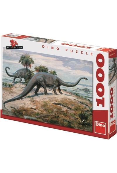 Dino 1000 Parça Diplodocus Puzzle