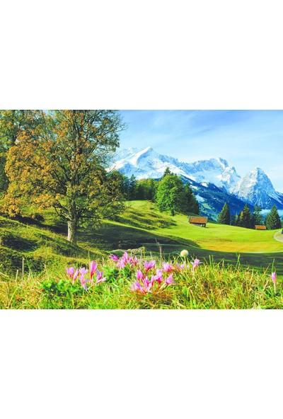 Dino Puzzle 1500 Parça Bavyera Alpleri Puzzle