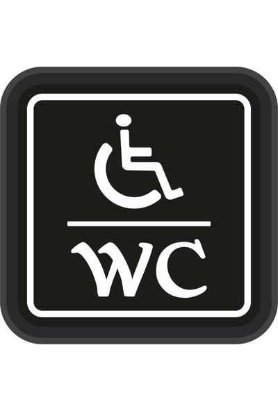 Ydr Engelli WC Tabela - Özürlü WC Tabelası