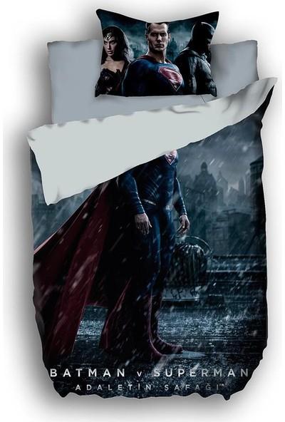 Özdilek Batman v Superman Rain Nevresim Takımı