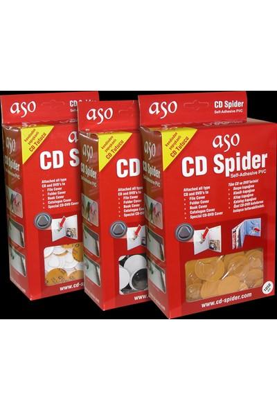 CD ve DVD Tutucu Plastik Arkası Yapışkanlı 1050 adet