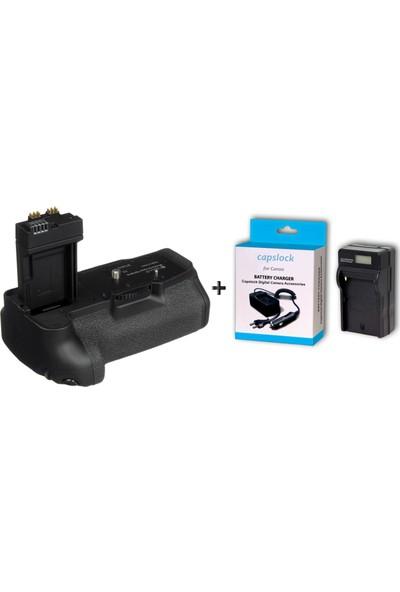 Canon 700D Battery Grıp Premium Serisi * Şarj Aleti Hediyeli