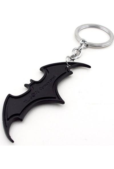 Solfera Batman Yarasa Dark Knıght Siyah Metal Anahtarlık KC657