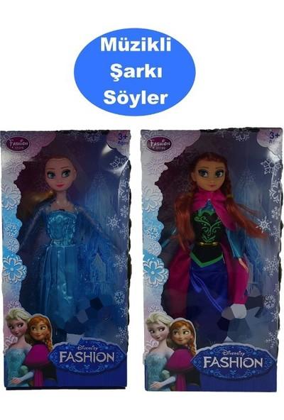 Kkd Karlar Ülkesi Oyuncak Et Bebek 30 cm Şarkı Söyleyen Elsa Frozen