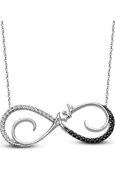 Alışverişrengi Aşk Gümüş Kolye